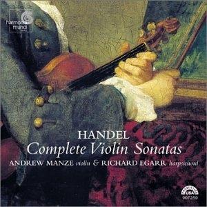 Handel-Complete Violin Sonatas album cover