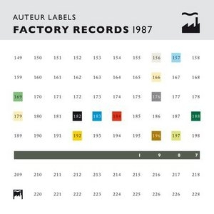 Auteur Labels: Factory Records 1987 album cover