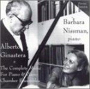 Ginastera: Complete Music For Piano & Piano Chamber Ensembles album cover