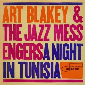 A Night In Tunisia (Blue Note) album cover