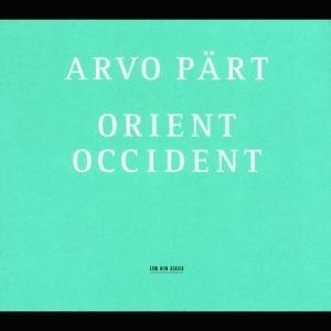Pärt: Orient Occident album cover