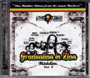 Graduation In Zion Riddim album cover