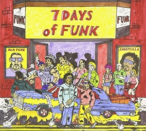 7 Days Of Funk album cover