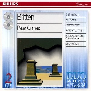 Britten: Peter Grimes album cover