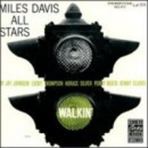 Walkin' album cover