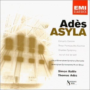 Adès: Asyla album cover