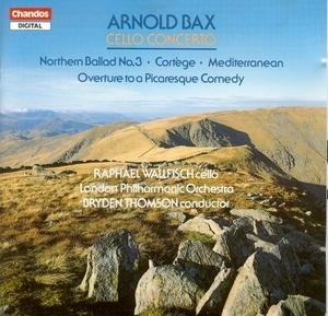 Bax: Cello Concerto, Northern Ballad No.3, Cortege For Orchestra album cover