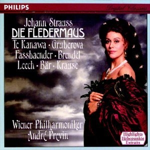 Strauss: Die Fledermaus album cover