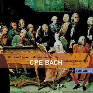 CPE Bach: Hamburg Concertos album cover
