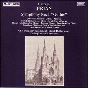 Brian: Symphony No.1 'Gothic' album cover