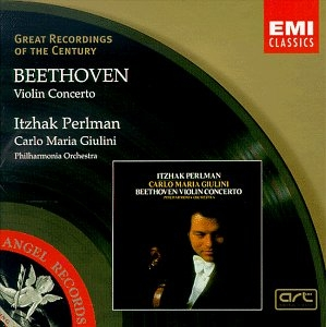 Beethoven: Concerto For Violin In D album cover