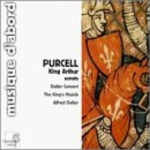 Purcell: King Arthur album cover