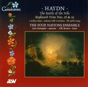 Haydn-The Battle Of The Nile album cover