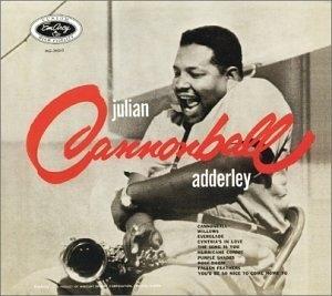 Julian 'Cannonball' Adderley album cover