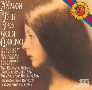 Berg: Violin Concerto album cover