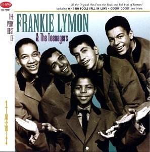 The Very Best Of Frankie Lymon & The Teenagers (Rhino) album cover