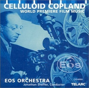Copland: Celluloid Copland album cover
