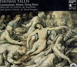 Tallis: Lamentations, Motets, String Music album cover