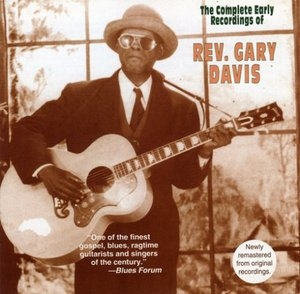 The Complete Early Recordings Of Rev Gary Davis album cover