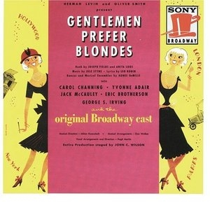 Gentlemen Prefer Blondes (1949 Original Broadway Cast) album cover