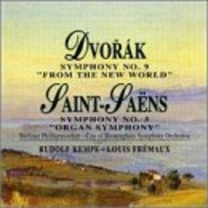 Dvorak: Symphony No.9, Saint-Saens: Symphony No.3 album cover