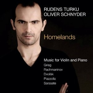 Homelands: Music For Violin And Piano album cover