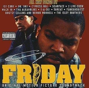 Friday: Original Motion Picture Soundtrack album cover