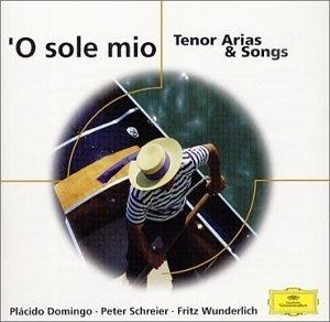 'O Sole Mio Tenor Arias & Songs album cover