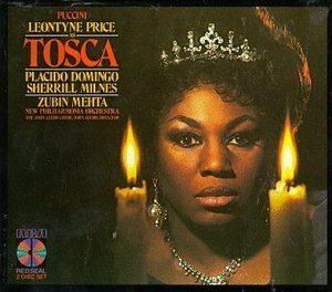 Puccini: Tosca album cover