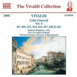 Vivaldi: Cello Concerti Vol.4 album cover