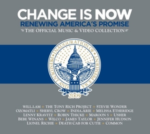 Change Is Now: Renewing America's Promise album cover