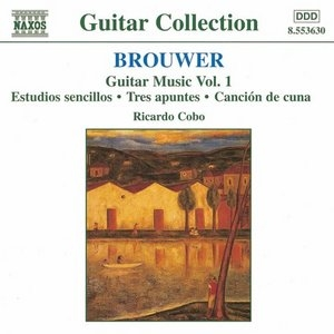 Brouwer: Guitar Music, Vol.1 album cover