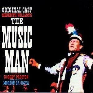 The Music Man (1957 Original Broadway Cast)  album cover