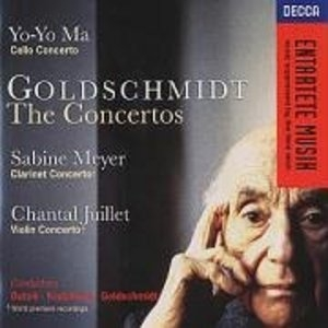 Goldschmidt: The Concertos album cover