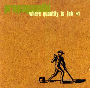 Where Quantity Is Job #1 album cover
