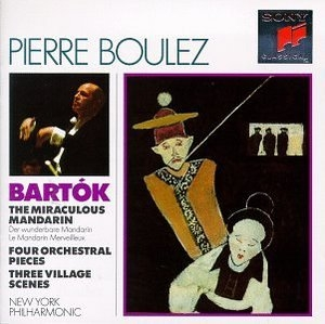 Bartok: The Miraculous Mandarin album cover