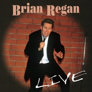 Brian Regan Live album cover