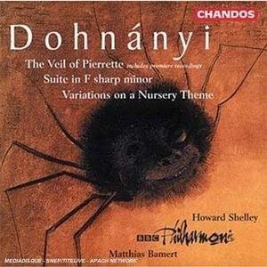 Dohnanyi: The Veil Of Pierrette album cover