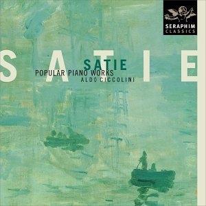 Satie: Popular Piano Works album cover