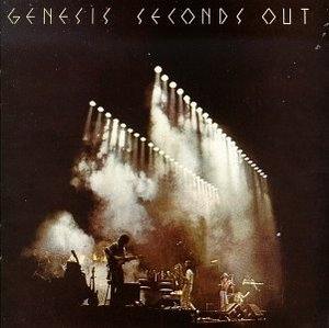 Seconds Out album cover