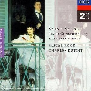 Saint-Saëns: Piano Concertos Nos.1-5 album cover