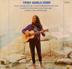 Very Early Joan album cover
