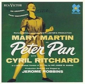 Peter Pan (1954 New York Cast)  album cover