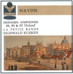 Haydn: Symphonies 88, 89 And 92 album cover