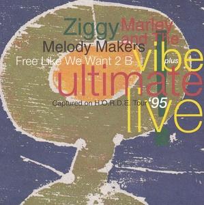 Free Like We Want 2 B + Vibe Ultimate Live! (H.O.R.D.E. Tour '95) album cover