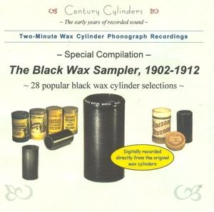 Wax Cylinder: Black Wax Sampler,  1902-1912 album cover