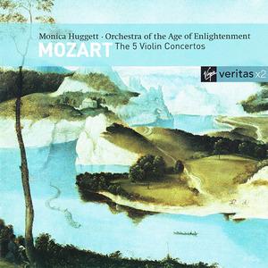 Mozart: The 5 Violin Concertos album cover