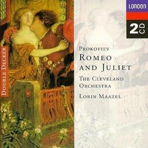 Prokofiev: Romeo And Juliet album cover