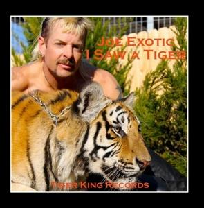 I Saw A Tiger (Single) album cover