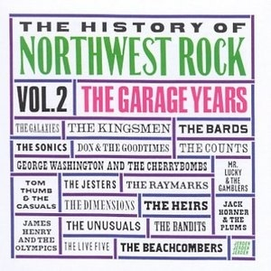 The History Of Northwest Rock Vol.2 (Jerden) album cover